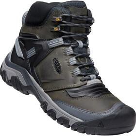 Keen Ridge Flex Mid WP Shoes Men, gris/negro